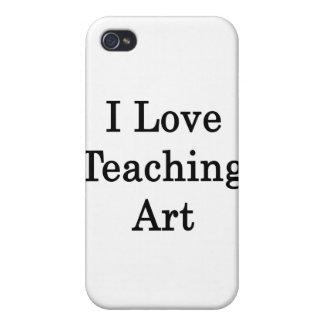I Love Teaching Art iPhone 4/4S Case