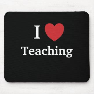 I Love Teaching Mousepad