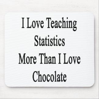 I Love Teaching Statistics More Than I Love Chocol Mouse Pads