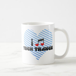 I Love Tech Trance Mug