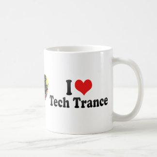 I Love Tech Trance Mugs