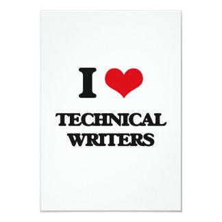 I love Technical Writers Invitations