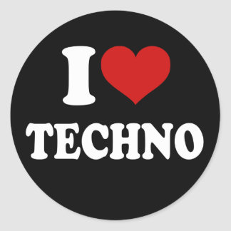 I love house music stickers for Tech house classics
