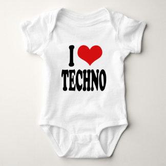 I Love Techno Tshirt