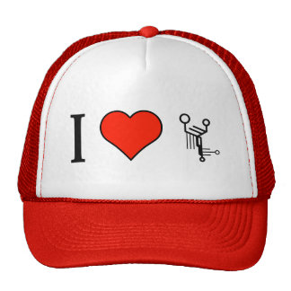 I Love Technology Products Cap
