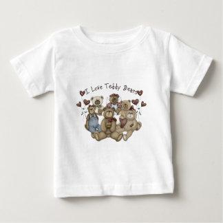 I  Love Teddy Bears Heartsakes Baby T-Shirt