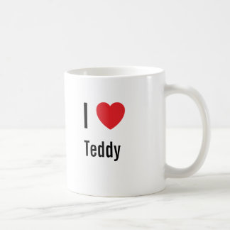 I love Teddy Coffee Mug