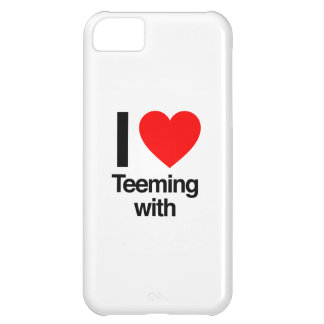 i love teeming with iPhone 5C case