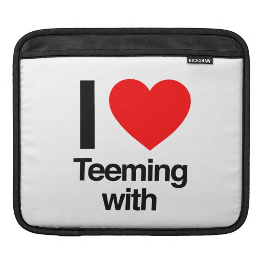 i love teeming with sleeve for iPads