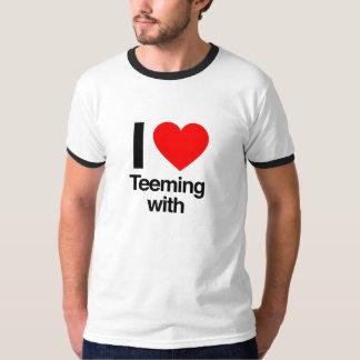 i love teeming with T-Shirt