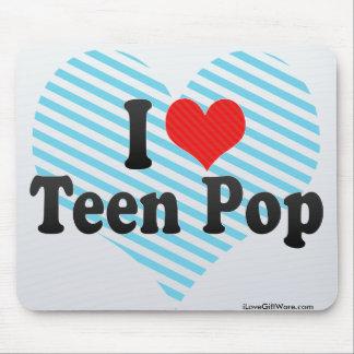 I Love Teen Pop Mouse Pad