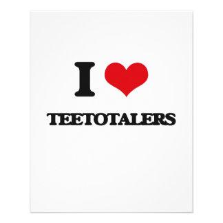 I love Teetotalers Custom Flyer