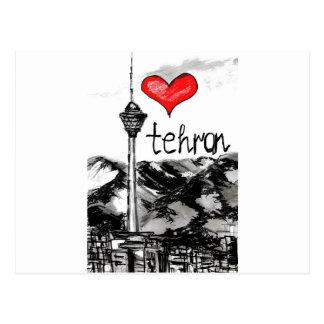 I love Tehran Postcard