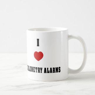 I Love Telemetry Alarms Coffee Mug