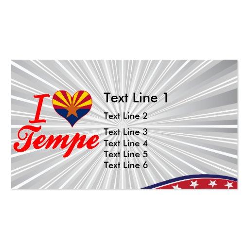 I Love Tempe, Arizona Business Cards