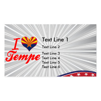 I Love Tempe, Arizona Pack Of Standard Business Cards