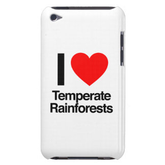 i love temperate rainforests iPod touch cases