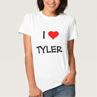 """I LOVE _____"" TEMPLATE--ADD YOUR OWN NAME T SHIRTS"