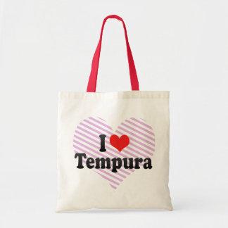 I Love Tempura Budget Tote Bag