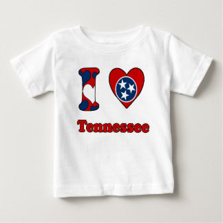 I love Tennessee Baby T-Shirt