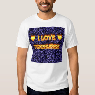 I love tennessee fire and flames t shirt