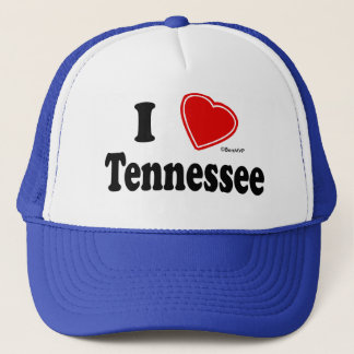 I Love Tennessee Trucker Hat
