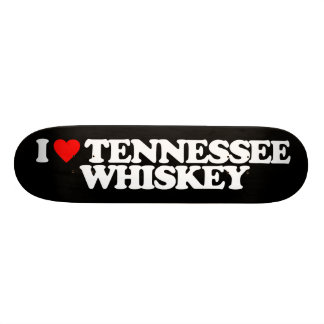 I LOVE TENNESSEE WHISKEY 20.6 CM SKATEBOARD DECK
