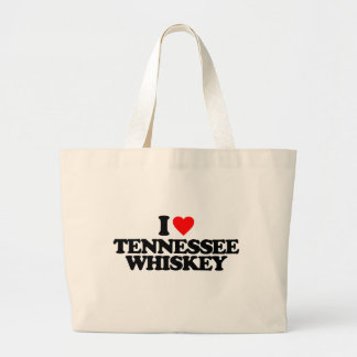 I LOVE TENNESSEE WHISKEY CANVAS BAGS