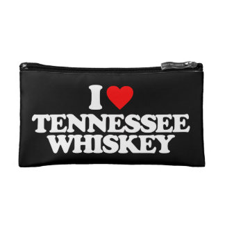 I LOVE TENNESSEE WHISKEY MAKEUP BAG