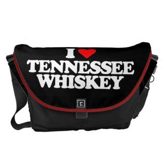 I LOVE TENNESSEE WHISKEY MESSENGER BAG