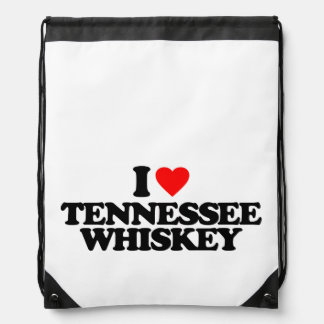 I LOVE TENNESSEE WHISKEY DRAWSTRING BAG
