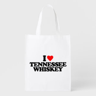 I LOVE TENNESSEE WHISKEY MARKET TOTES