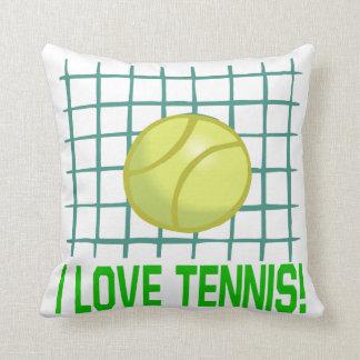 I Love Tennis Cushion