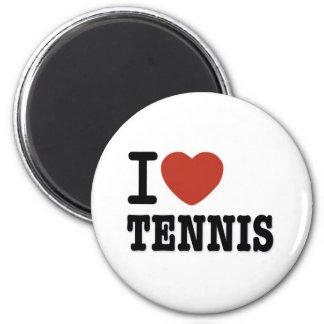 I LOVE TENNIS MAGNET