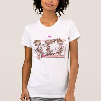 I love Tennis T Shirt For Women - Cute Tennis T