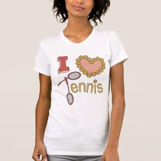 I Love Tennis Tees for Women