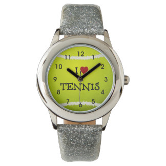 I Love Tennis - Tennis Ball Watch