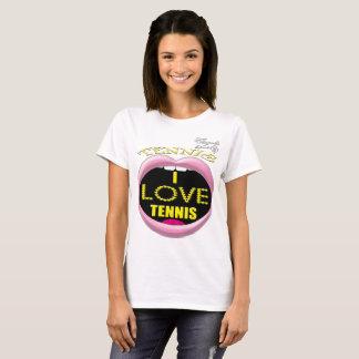I love Tennis Women's Basic T-Shirt
