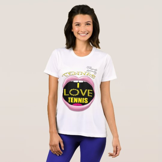 I love Tennis Women's Competitor T-Shirt