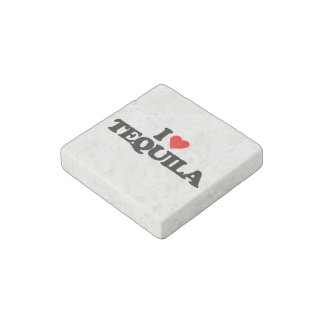 I LOVE TEQUILA STONE MAGNET