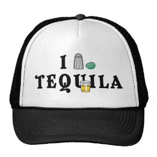 I Love Tequila Mesh Hats