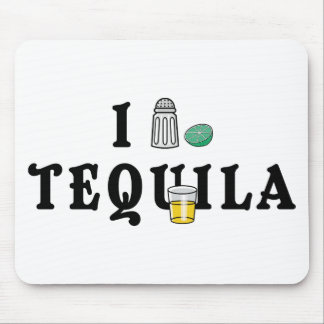 I Love Tequila Mouse Mats