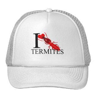 I Love Termites Caps Mesh Hat