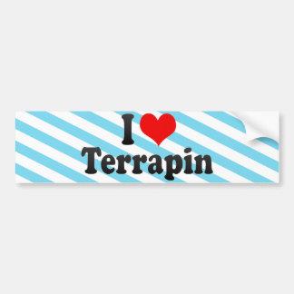 I Love Terrapin Bumper Stickers
