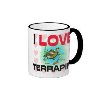 I Love Terrapins Coffee Mug