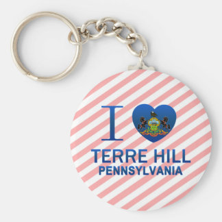 I Love Terre Hill, PA Keychains