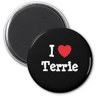 I love Terrie heart T-Shirt Refrigerator Magnet