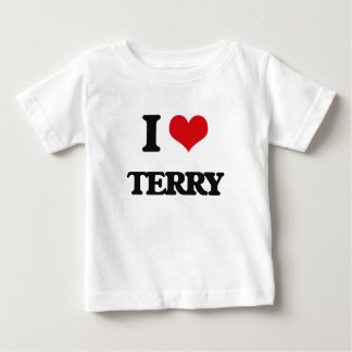 I Love Terry Baby T-Shirt
