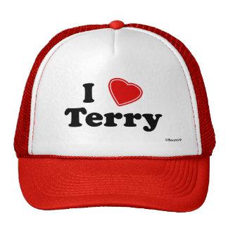 I Love Terry Trucker Hat