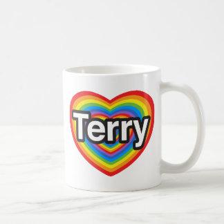 I love Terry. I love you Terry. Heart Mug